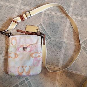 Small coach cross body purse